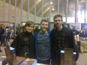 Feldrik, Florent (futur lecteur) et moi